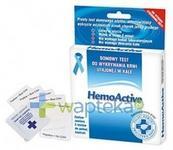 Biomerica TEST HEMOACTIVE Do wykrywania krwi utajonej w kale - 5 szt.