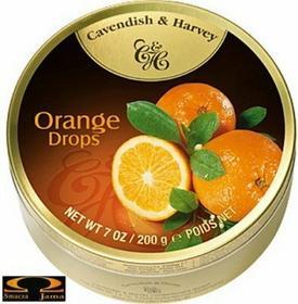 Cavendish & Harvey Landrynki o smaku pomarańczowym 631