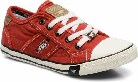 Mustang Tenisówki i trampki shoes Flaki Dziecięce Czerwone