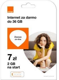 Starter Orange Free na Kartę 7 zł