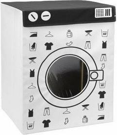 Pojemnik na pranie WASHING MACHINE, 100 litrów, XL - biały2
