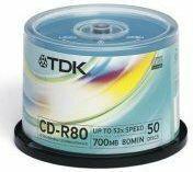 TDK Płyty CD-R 700MB 52x 50szt.