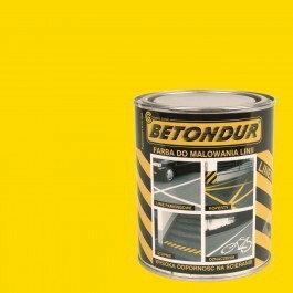 Betondur liner Farba do linii 5L żółta