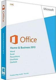Microsoft Office 2013 Home and Business 32/64bit Nowa licencja