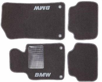 MotoHobby Dywaniki samochodowe BMW 3 E46 98-07 - BMW 3 E46 98-07 Komplet dywanik