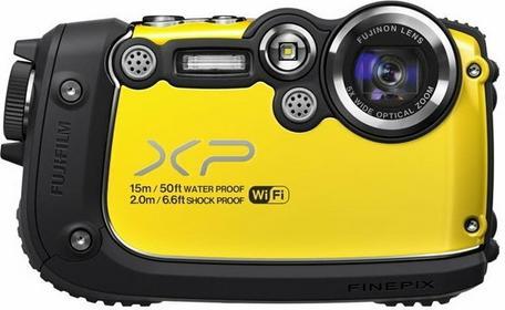 Fuji FinePix XP200 żółty