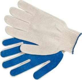 Vorel Rękawice bawełniane powlekane pvc 74106