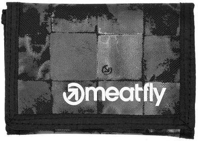Meatfly portfel męski szary