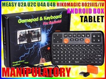 KLAWIATURA BEZPRZEWODOWA BT 3.0 ANDROID TV mini K6 Easy
