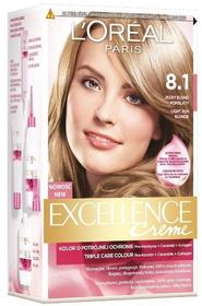 Loreal Excellence Creme 8.1 Jasny Blond Popielaty