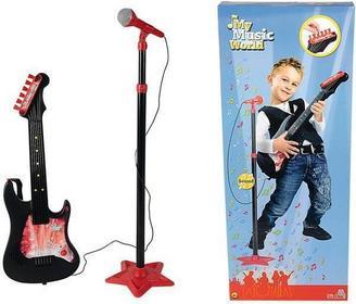 Simba My Music World - Gitara z mikrofonem 6833223