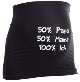Mama Band podtrzymujący brzuch Papa Mama Ich kolor czarny 34-10_czarny