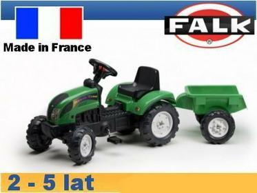 Falk Traktor Ranch z przyczepą zielony FA2052AC