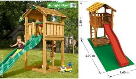 Jungle Gym Plac zabaw Cottage