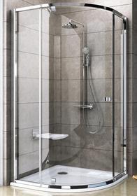 Ravak Pivot PSKK3-80 80x80 profil bright aluminium szkło transparentne 37644C00Z1