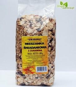 Smakosz Mieszanka śniadaniowa z żurawiną 600g 7F91-335C2