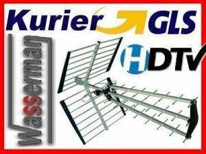 Opticum Globo ANTENA UHF / DVB-T analogowo cyfrowa AX1000