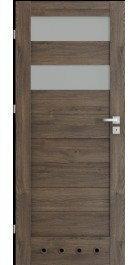 Verte Skrzydło drzwiowe łazienkowe C2 70 lewe Dąb Szkarłatny