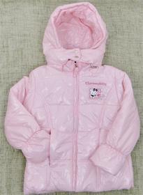 kurtka rozowa na zime Hello Kitty 128cm
