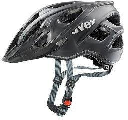 UVEX Kask Stiva cc black/silver mat 52-57cm LAR-KA94