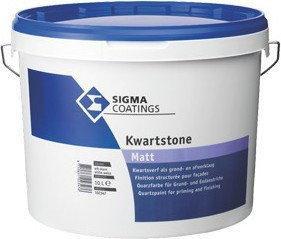 Sigma COATINGS KWARTSTONE strukturalna-kwarcowa farba Farba fasadowa biała