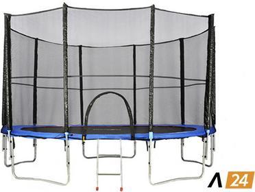 Athletic24 305 cm - Trampolina ogrodowa z siatką zabezpieczającą