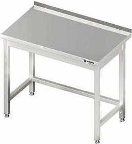 Stalgast Stół przyścienny bez półki 1400x700x850 mm 980027140