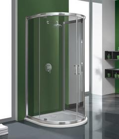 Sanplast Tx 5 100 KPP2DJ/TX5-100 100x100 profil chrom błyszczący szkło W0