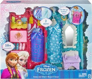 Mattel Disney Kraina lodu - Szafa ksieźniczki Anny & Elsy BDK36