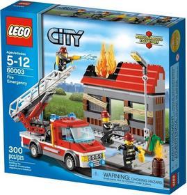 LEGO CITY - Alarm pożarowy 60003