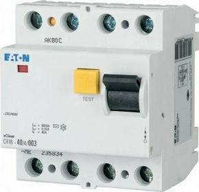 Eaton wyłącznik różnicowo-prądowy CFI6-25/4/003 4-biegunowy 235776