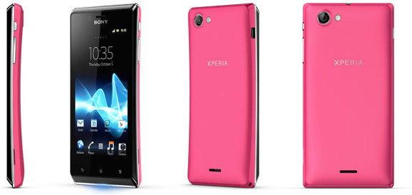 Sony Xperia J Biały
