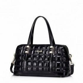 Nucelle Połyskująca damska torebka do ręki czarny 1170768-01