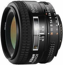 Nikon AF 50mm f/1.4D AI