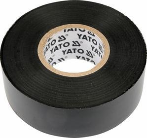 Yato Taśma elektroizolacyjna 12mmx10mx0,13mm, czarna YT-8152