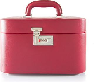 Davidts Kosmetyczka - Kuferek podróżny na kosmetyki Toilet, 367 822 01 czerwony