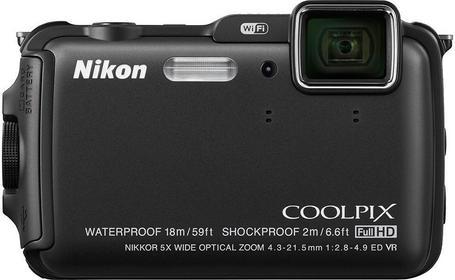 Nikon Coolpix AW120 czarny