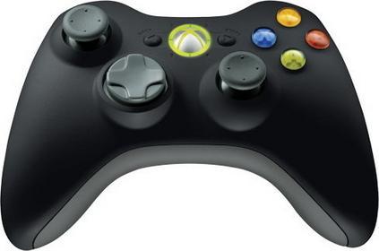 Microsoft Xbox 360 Wireless Controller - Black