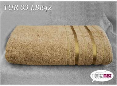 Ręcznik 70x140 Kąpiel. Bawełna TUR 03 J. Brąz 30576