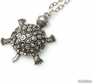 Jubileo WISIOREK DUŻY srebro ŻÓŁW kolor stare srebro (aj540)