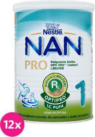 Nestle 12x NAN Opti PRO 1 400g