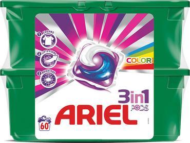 Ariel elowe kapsułki do prania Color 60szt 0064170391