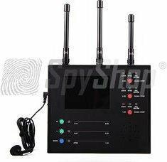 Spy Shop Wykrywacz kamer bezprzewodowych WCH-125