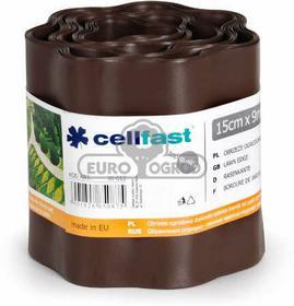 CELLFAST Obrzeże ogrodowe brąz 15cm x 9mb marki 30-012