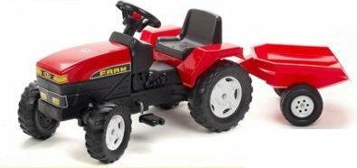 Falk Traktor Farm z przyczepą 872A