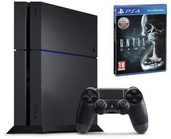 Sony  PlayStation 4 500GB Czarny + Until Dawn