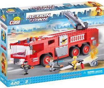 Cobi Action Town Lotnisko Fire Truck 1467