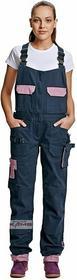 Cerva YOWIE - damskie spodnie, 97% bawełna, 3% Spandex, 260 g/m2 - 34-48.