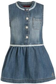 s.Oliver Sukienka jeansowa blue denim 65602822456 dziewczęta