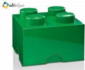 Lego Pojemnik na klocki zielony 4